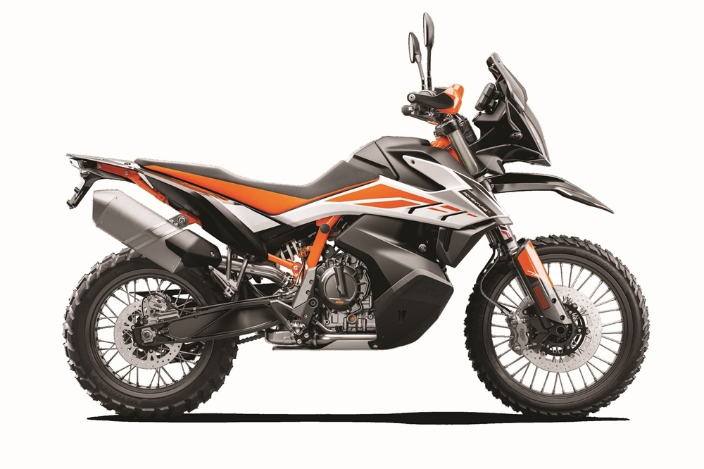 EICMA 2018: новые турэндуро KTM 790 Adventure / KTM 790 Adventure R 2019