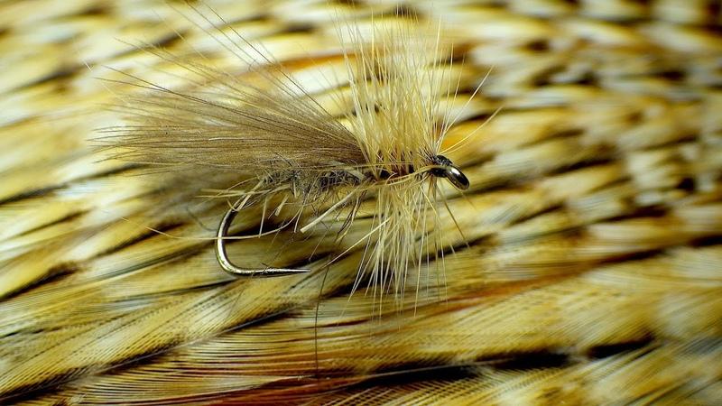 Tying a Basic Sedge/Caddis Dry Fly with Davie McPhail