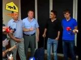 Журналисты т/к «Звезда» отданы российским дипломатам в Днепропетровске! Новости Украины Сегодня.