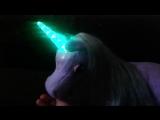 Лила фиолетовый единорог