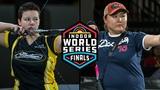 Viktoria Balzhanova v Sarah Prieels compound womens gold 2019 Indoor World Series Finals