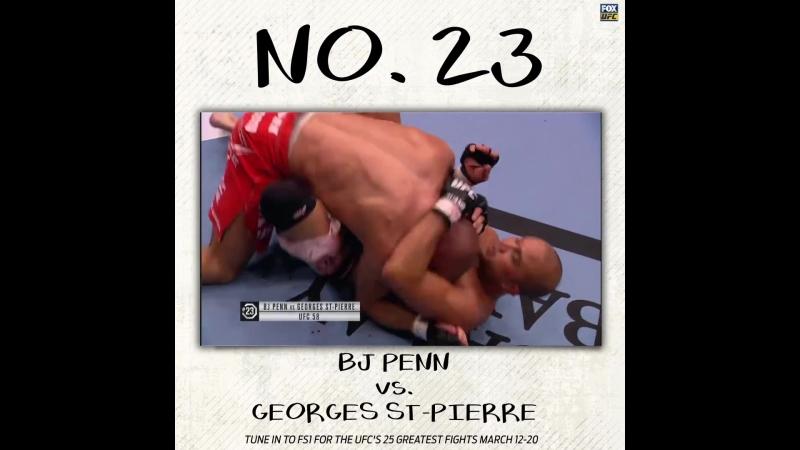 Top 25 Greatest Fights: Penn vs. St-Pierre