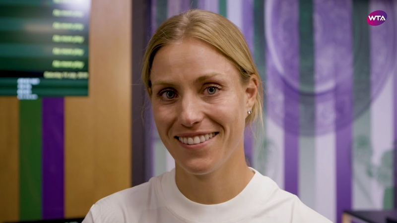 Angelique Kerber's message to the fans after title win | 2018 Wimbledon