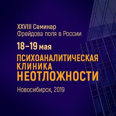Афиша Новосибирск XXVIII Семинар Фрейдова Поля в России