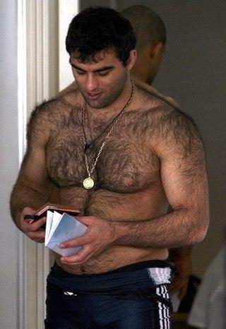 Мужчины с волосатой грудью фото