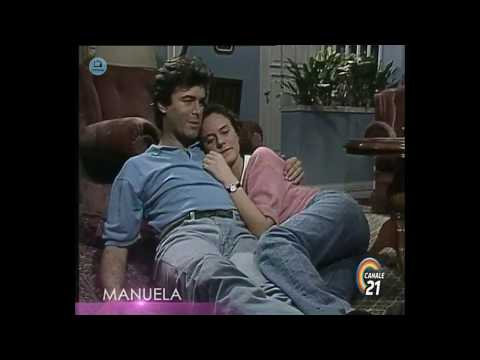 🎭 Сериал Мануэла 204 серия, 1991 год, Гресия Кольминарес, Хорхе Мартинес.