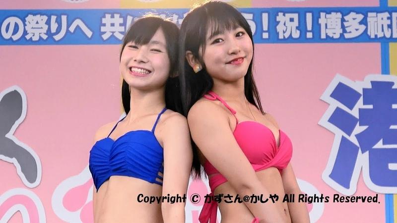 どんたくアイドル水着ファッションショー港本舞台 2017年5月4日