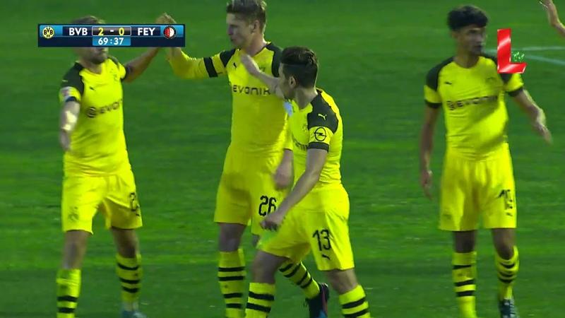 Borussia Dortmund 2 - 1 Feyenoord (11.01.2019 by LTV)