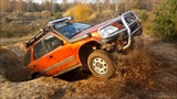 #2 Zabawa na poligonie OFF ROAD Team Lubliniec HONDA CRV rd1 Jeep ZJ Opel Frontera