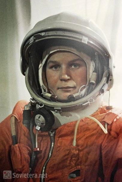 Первая в мире женщина-космонавт, Валентина Терешкова.