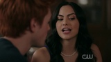 Riverdale 2x11 Chapter Twenty-Four The Wrestler Archie and Veronica kiss scene