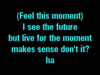 Pitbull Feat Christina Aguilera - Feel This Moment (Karaoke)