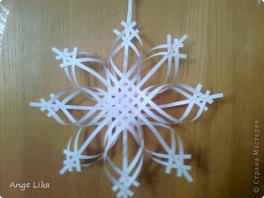 Снежинки своими руками на новый год фото