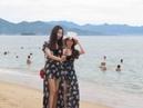 159 Вьетнам Нячанг Утро пляж фотосессия девушки Vietnam Nha Trang morning beach photo shoot girls