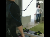 На ЭМС тренировке вместе с ребенком