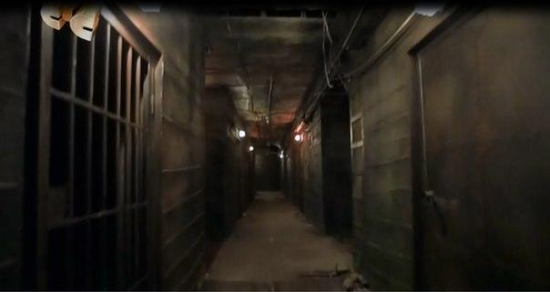 Схема подземелья из закрытой школы