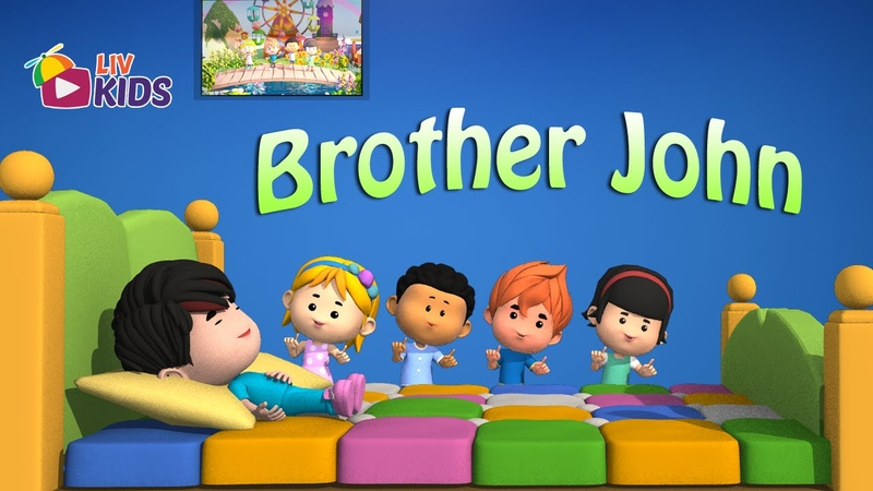 Are you Sleeping Brother John with Lyrics | LIV Kids Nursery Rhymes and Song | HD
