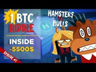 Hamsters Vs Bulls - Run _ 1 BTC riddle inside