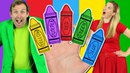 Colors Finger Family - Learn Colors with the Finger Family Nursery Rhyme Baby Songs