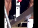 Тренировка англичан в спортзале