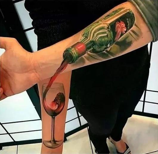 Настоящая парная татуировка