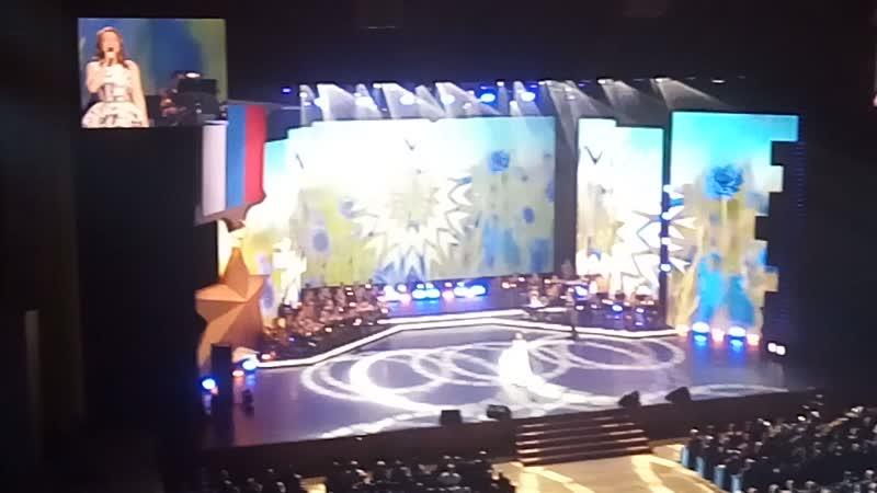 Гусева Екатерина. Мы на концерте в Кремле 9.12.18