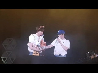 [FANCAM] 180811 Сухо и Кай @ EXO PLANET#4 - The ElyXiOn [dot] in Macao D2