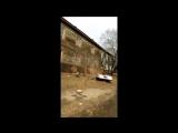 Центр Хабаровска, грязь, трущобы и беспросветная нищета.