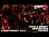 1Forty Live #2 Coco, Snowy &amp More w Benteki B2B Patrice