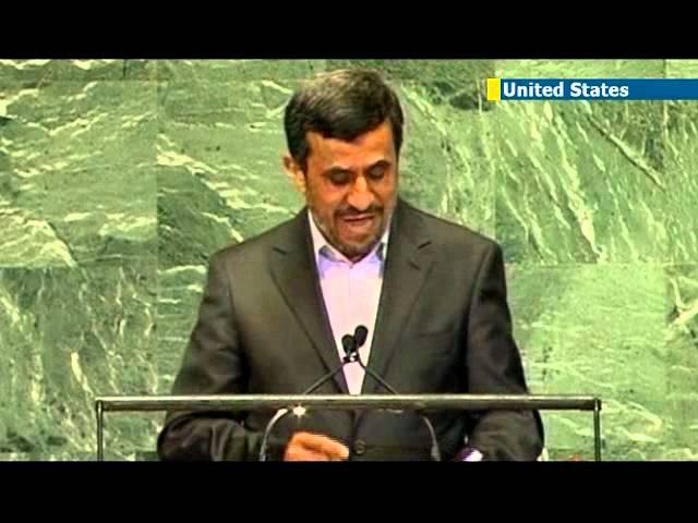 Посол Израиля в ООН проигнорировал Ахмадинежада