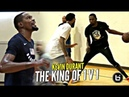 Kevin Durant Is THE KING OF 1 V 1!!! GOOD LUCK Trying To Guard Him!!! The BEST SCORER On Earth!