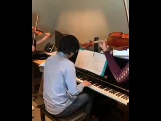 Ladybug & cat noir awakening | rehearsal