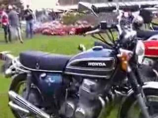 Victor Harbor Vintage Japanese Motorcycle Club Rally Display 2014