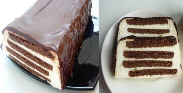 Торты без выпечки с пошаговым фото