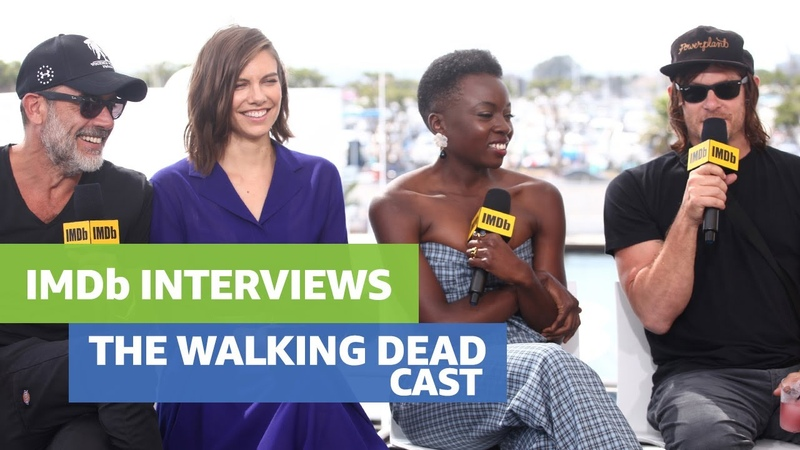 The Walking Dead Cast Say Farewell to Andrew Lincoln
