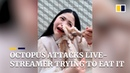 Octopus attacks live-streamer as she tries to eat it alive in China