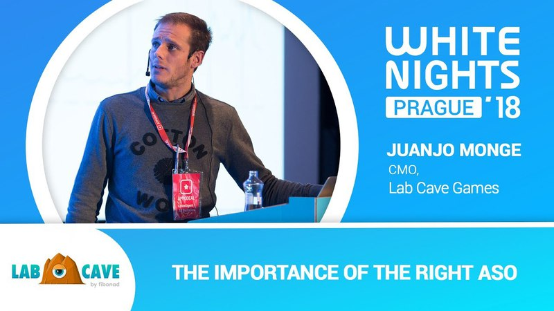 White Nights Prague 2018 — Juanjo Monge (Lab Cave Games) - The Importance of the Right ASO