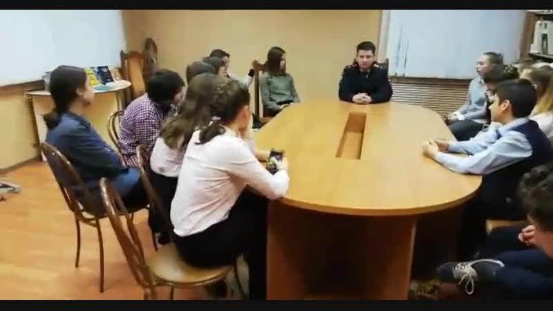 Дискуссионный стол Ты в этом мире не один!