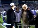 Gregory Lemarchal et Sofiane Match de foot