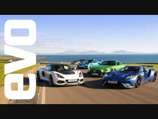 Ford GT против Porsche 911 GT2 RS против Mercedes-AMG GT R против Lotus Exige Cup