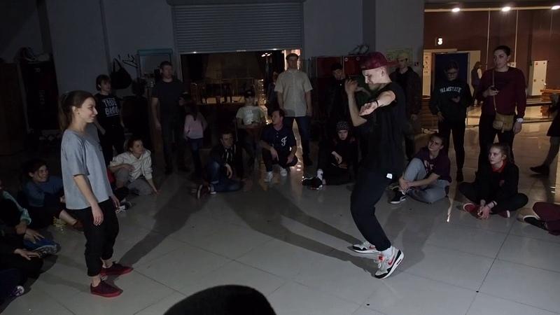 Hip Hop PRO Tea Jam Battle vol. 9.0 Юля Сафина vs Андрей Слугин