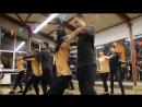 Парные танцы хастл - Продолжающая группа. Новогодний отчетный концерт Dance Fox, г. Кемерово