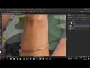 Уроки Фотошоп Elena Boot Как изменить одежду в Фотошопе Меняем текстуру белой футболки на милитари