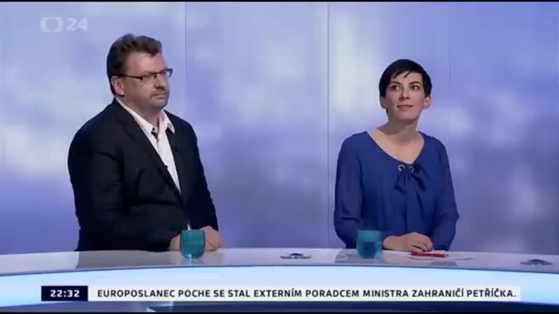POSLANEC HNUTÍ SPD MGR. LUBOMÍR VOLNÝ SE V NOČNÍ DEBATĚ NA ČT24 BIL JAKO LEV