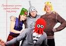 Креативные, яркие, выполнены с любовью) что еще сказать?  Добавлено: 26.12.2012, 16:45.  Прикольные вязанные шапки.