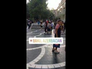 Красивый город Баку