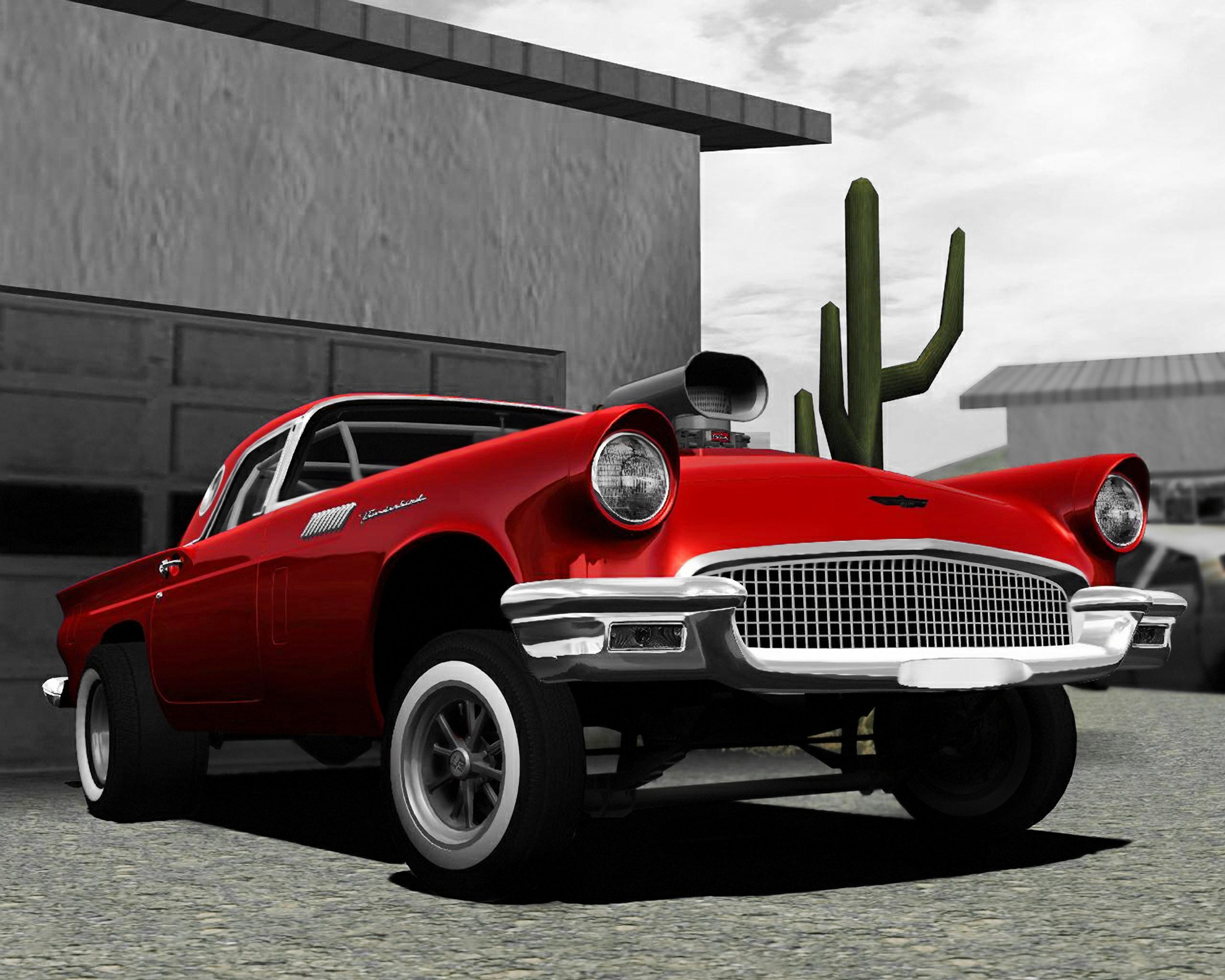 Virtual Stance Works Ford Thunderbird 57