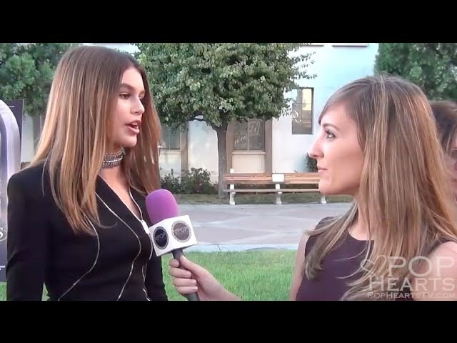 Kaia Gerber Talks Making Movie Debut at the Sister Cities Premiere