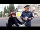 Шлем всему голова))) бабуля на мопеде))) секс не порно)