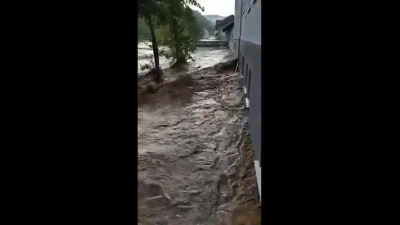 Unglaubliche Sturzflut Fischbach im Hunsrück